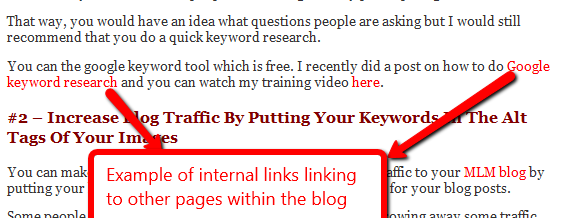 increase blog traffic